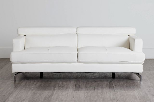 Marquez White Micro Sofa (0)