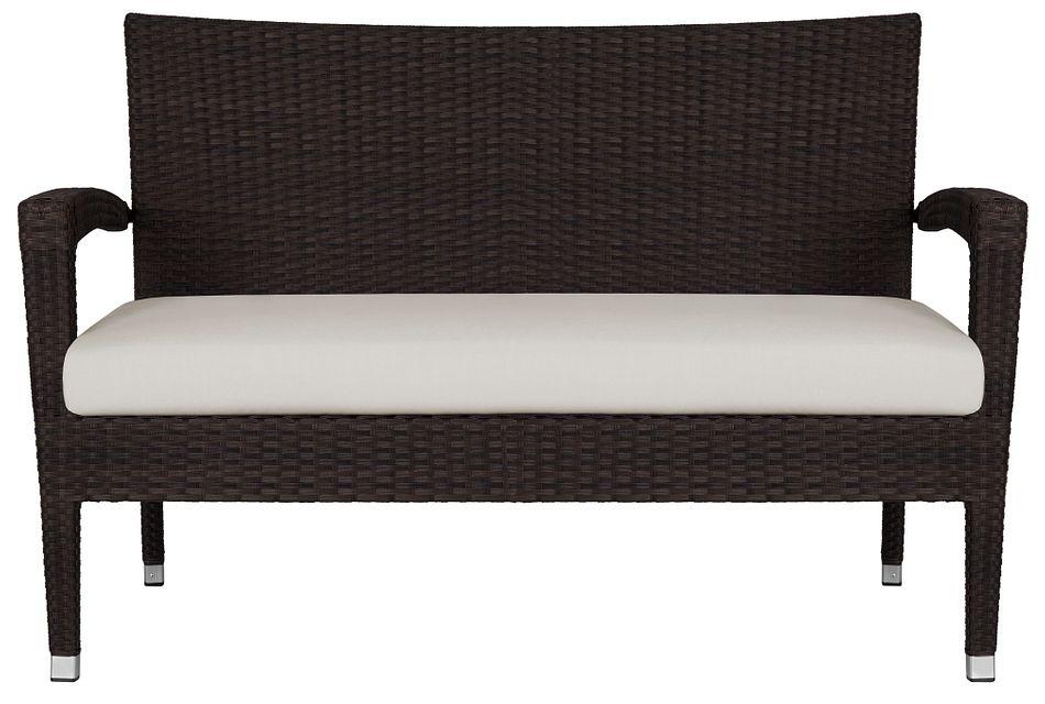 Zen White Sofa