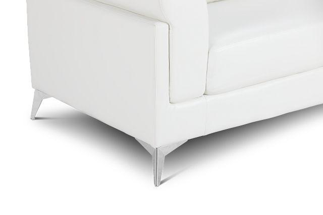 Gianna White Micro Sofa
