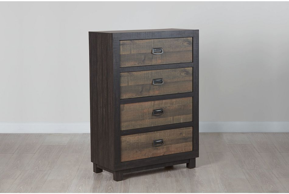 Harlington Dark Tone Drawer Chest
