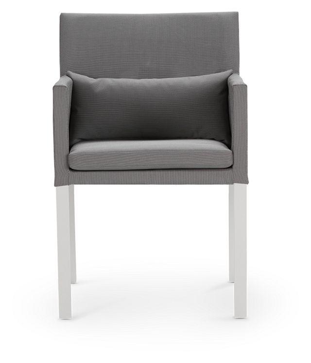 Lisbon Gray Cushioned Chair (2)