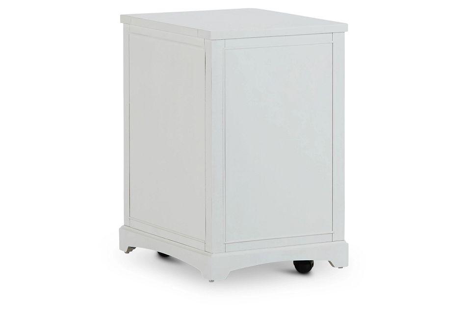 Heron Cove White File Cabinet