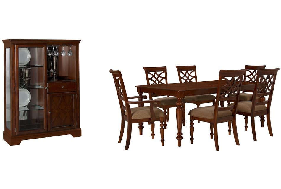 Oxford Mid Tone Rect Dining Room,  (0)