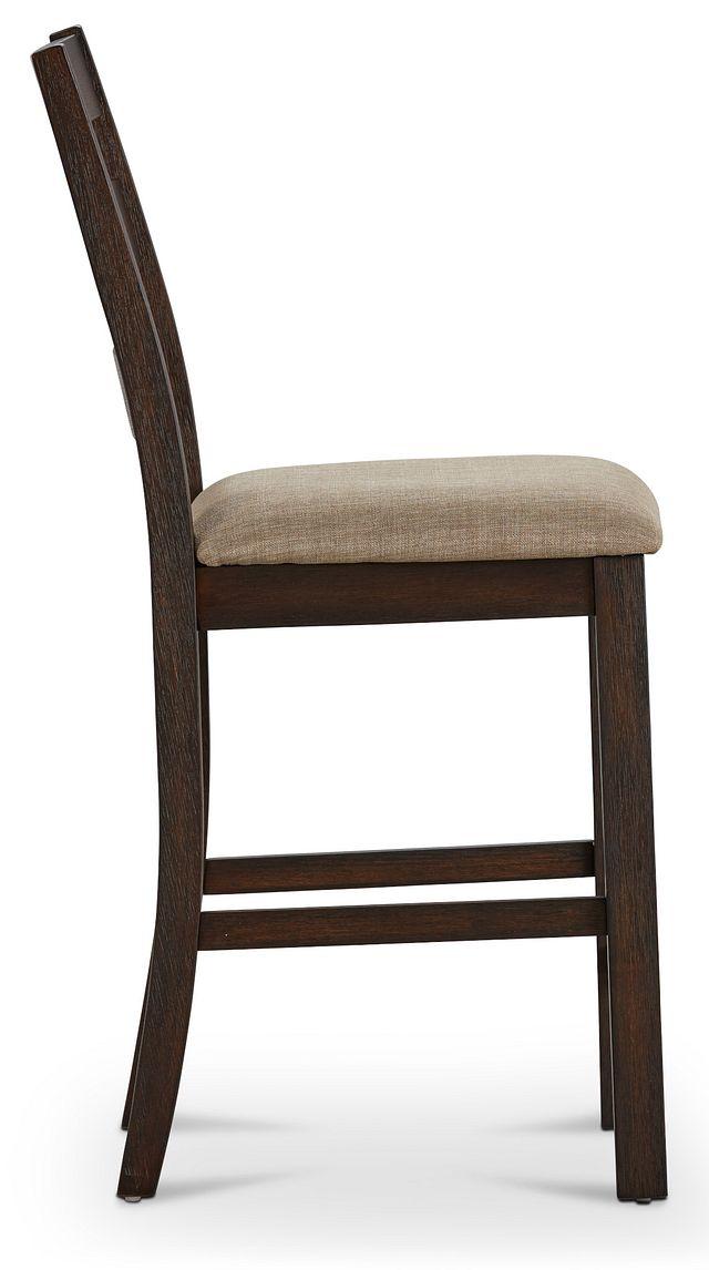 """Holden Dark Tone 24"""" Upholstered Barstool (3)"""
