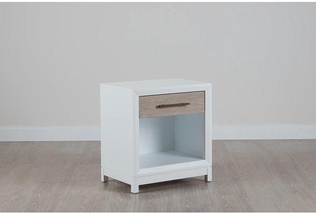 Boca Grande Two-tone 1-drawer Nightstand