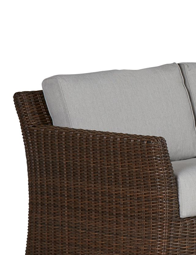 Southport Gray Left 4-piece Modular Sectional (3)