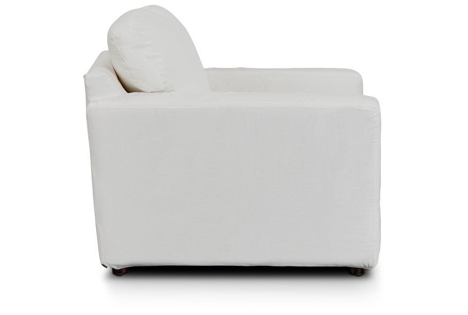 Poppy Light Beige Fabric Chair,  (2)