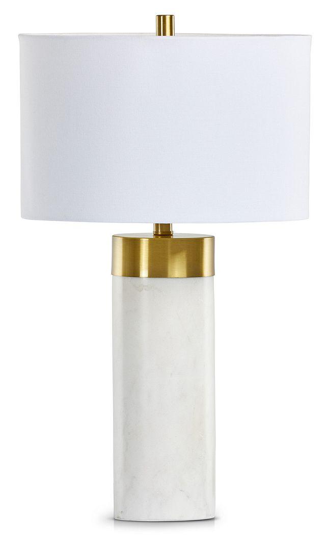 Jocelyn White Table Lamp (1)