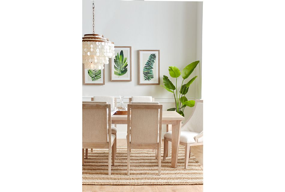 Boca Grande Light Tone Table & 4 Chairs