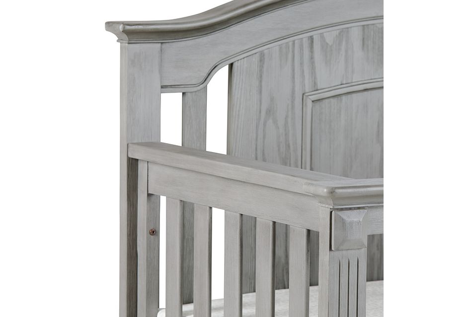 Willowbrook2 Gray 4-in-1 Crib