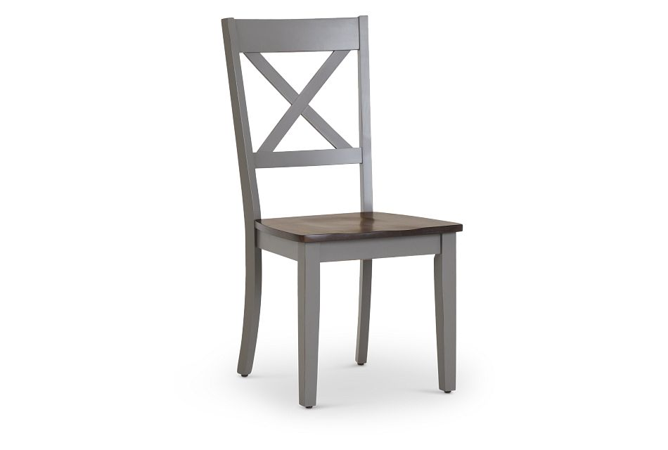 Sumter Gray Side Chair,  (1)