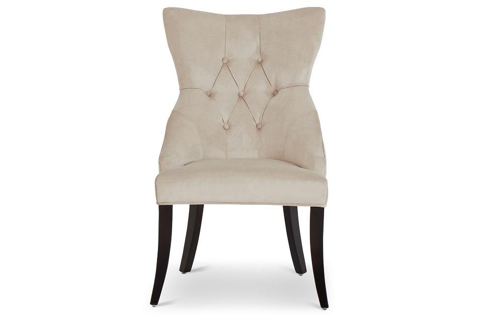 Sloane Light Beige Upholstered Arm Chair,  (3)