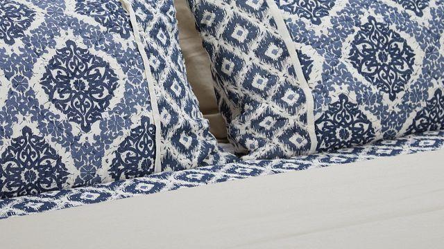 Sonoma Light Tone Panel Bed