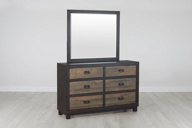 Harlington Dark Tone Dresser & Mirror (0)