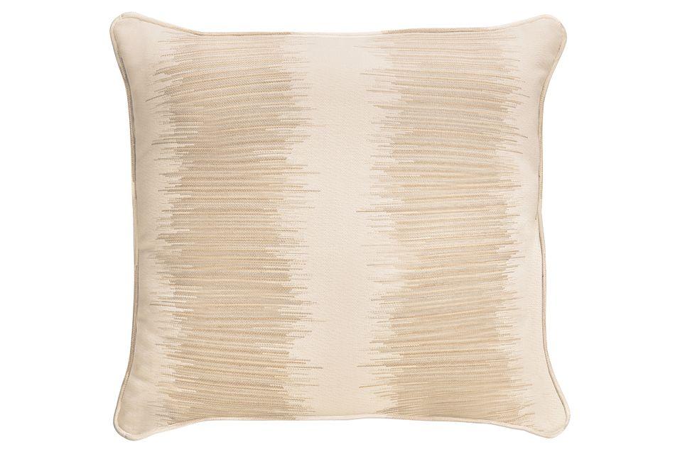 """Impromptu Light Gray  18"""" Accent Pillow,"""