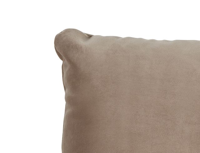 """Royale Taupe 18"""" Square Accent Pillow (1)"""