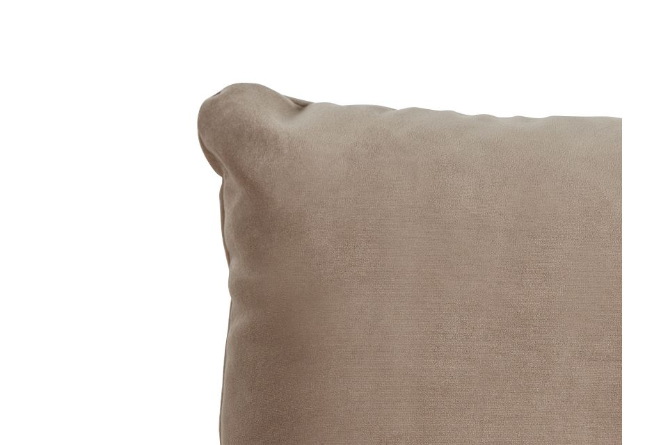 "Royale Taupe 18"" Square Accent Pillow"