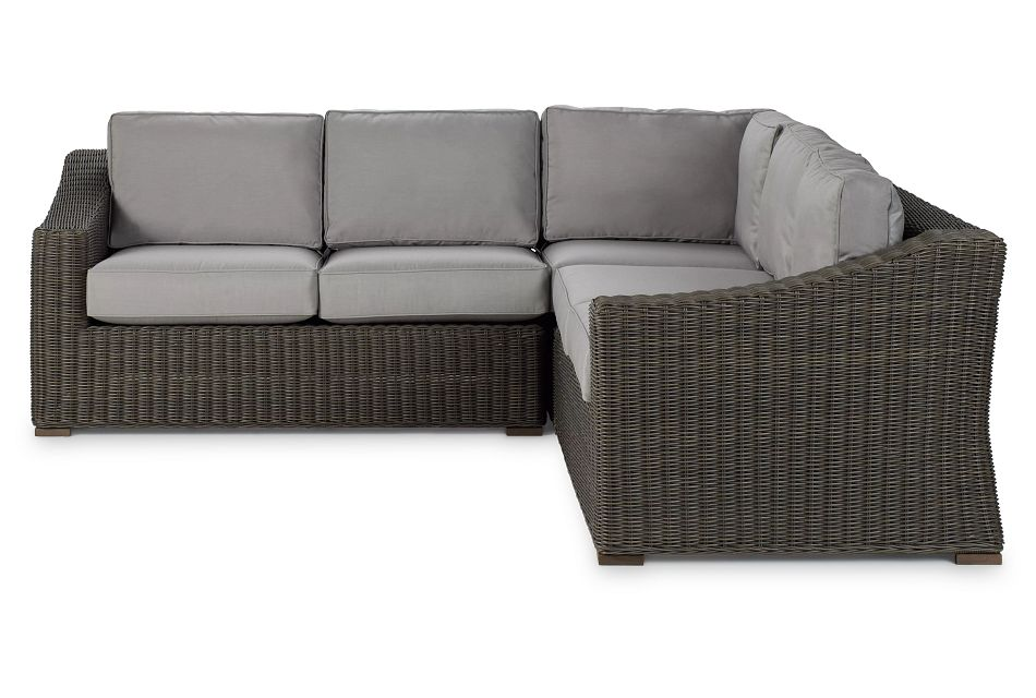Canyon GRAY  Small Two-Arm Sectional