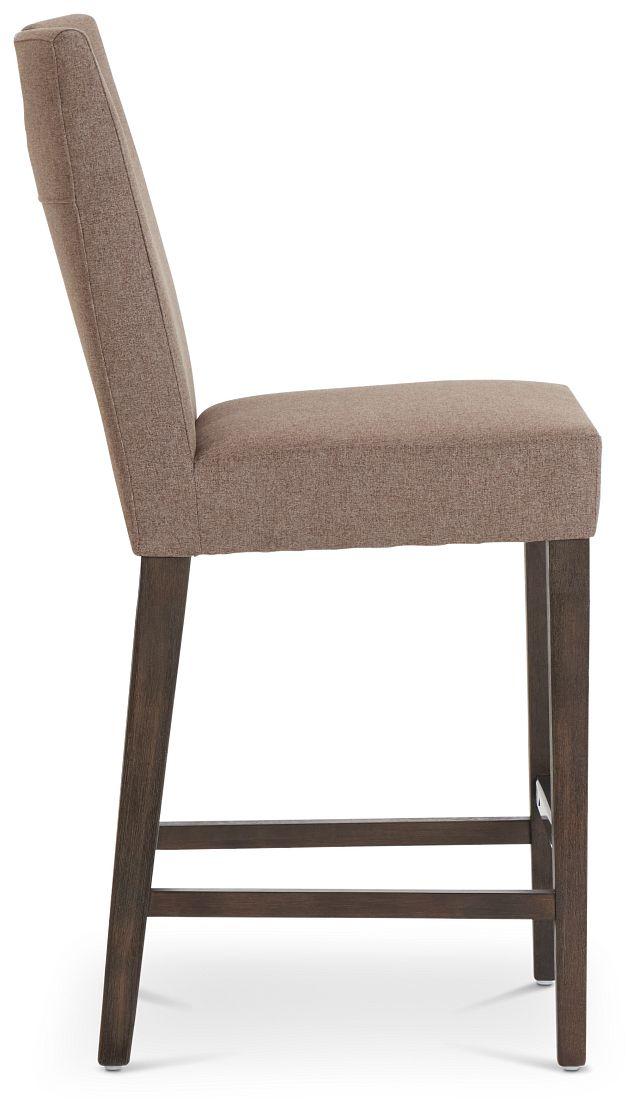 "Stout Brown 24"" Upholstered Barstool (2)"