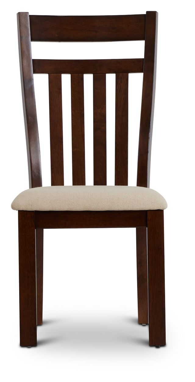 Napa Dark Tone Wood Side Chair (3)