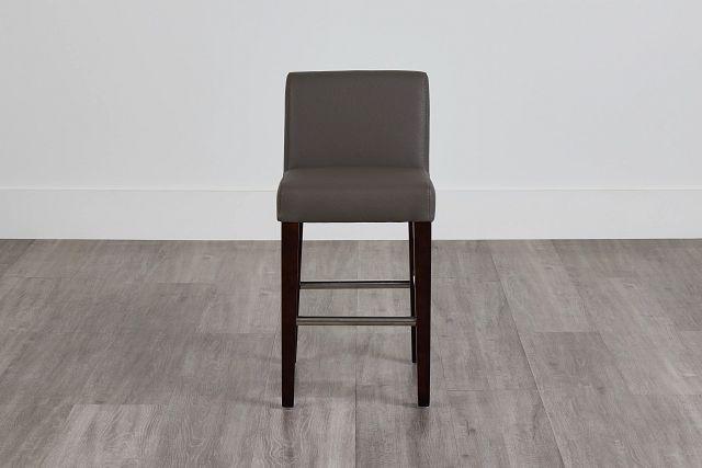 """Cane Graymicro 24"""" Upholstered Barstool (0)"""