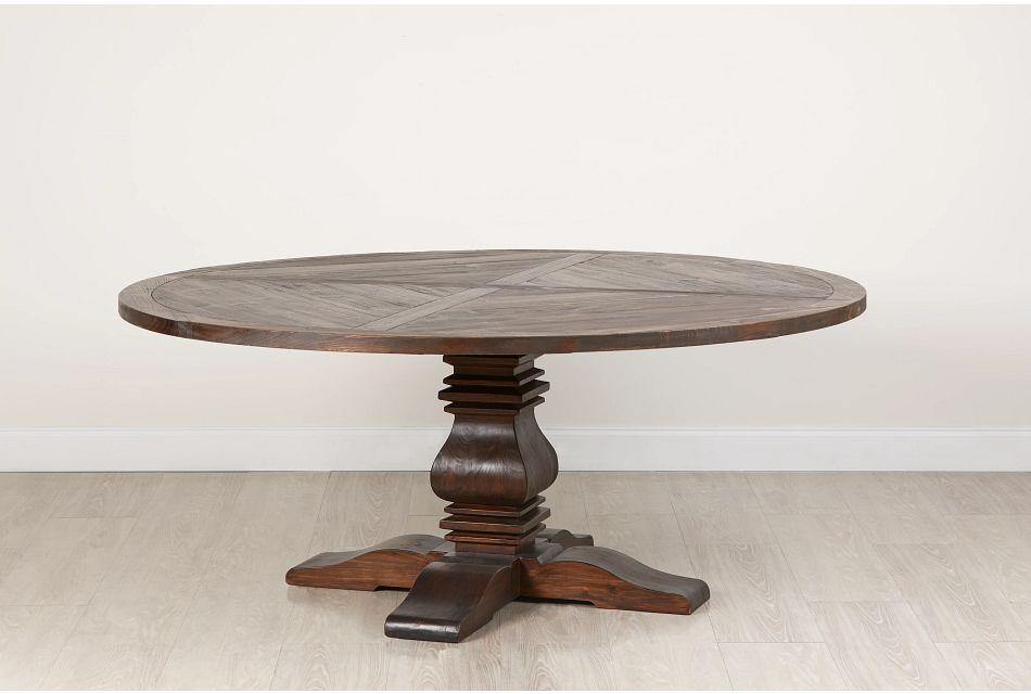 """Hadlow Mid Tone 72"""" Round Table,  (0)"""