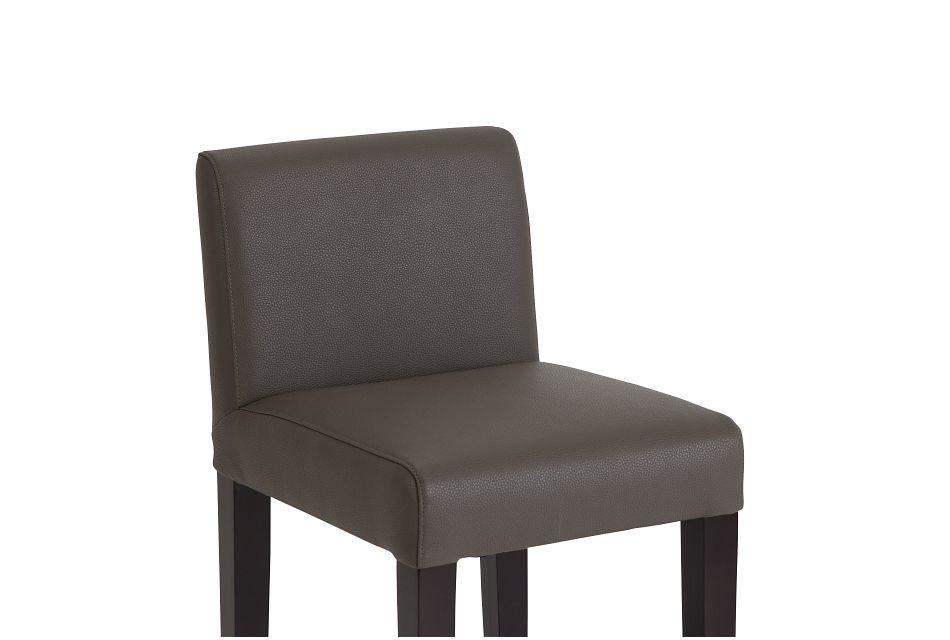 """Cane Graymicro 30"""" Upholstered Barstool"""