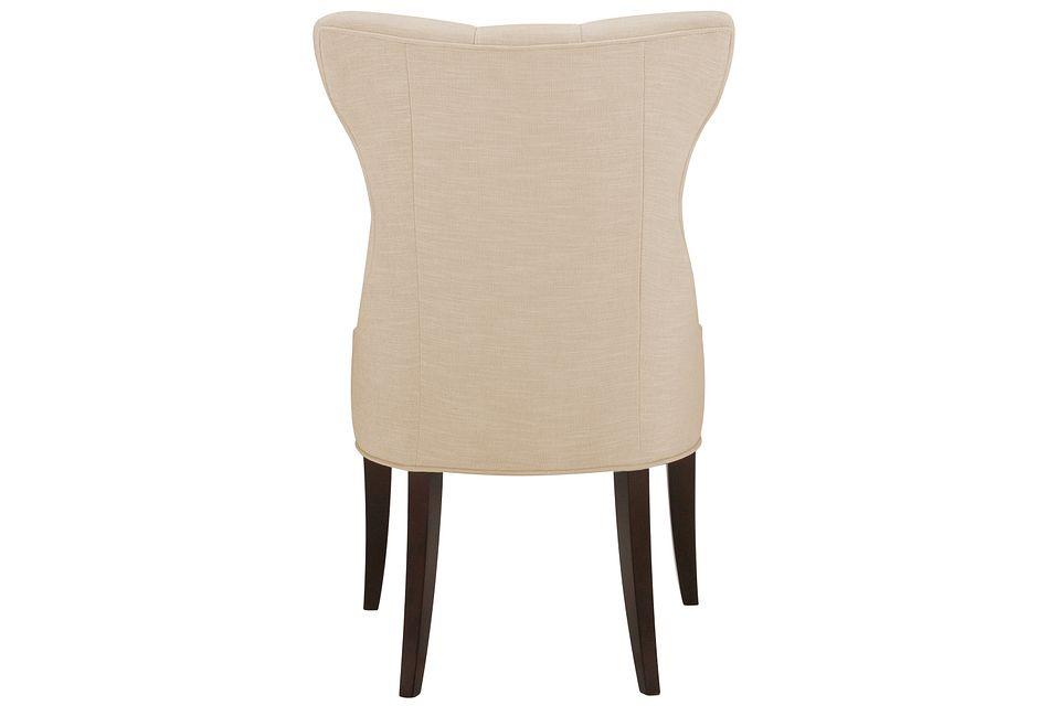 Deco Light Beige   Upholstered Side Chair,