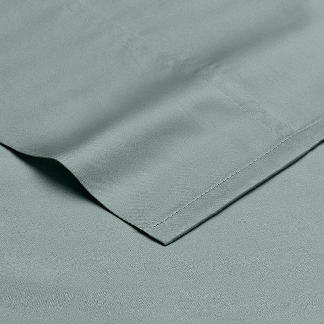 Egyptian Cotton Blue 400 Thread Sheet Set (2)