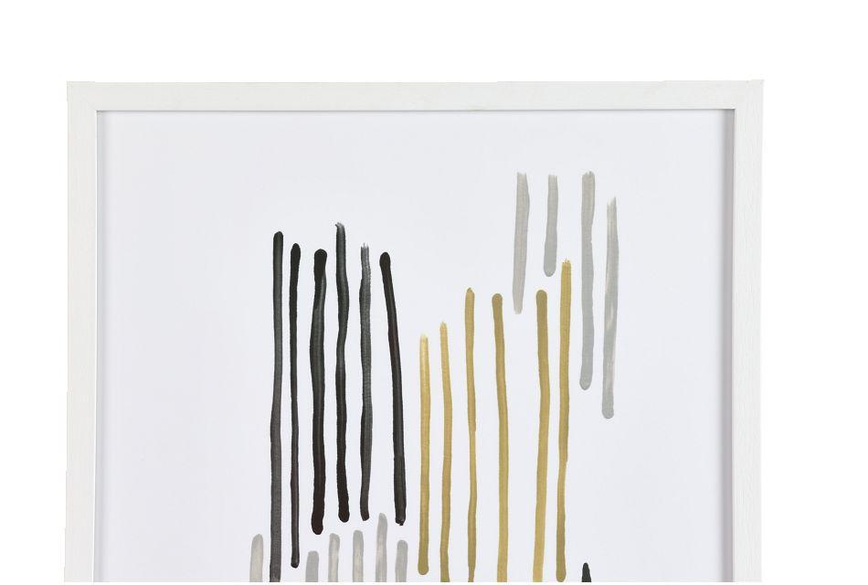 Hazel Gray Framed Wall Art,  (1)