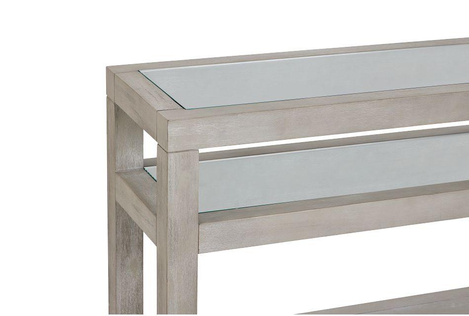 Madden Light Tone Sofa Table