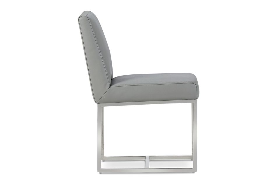 Miami Gray Micro Upholstered Side Chair