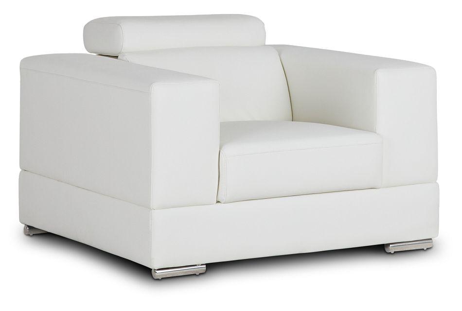 Maxwell White Micro Chair,  (1)