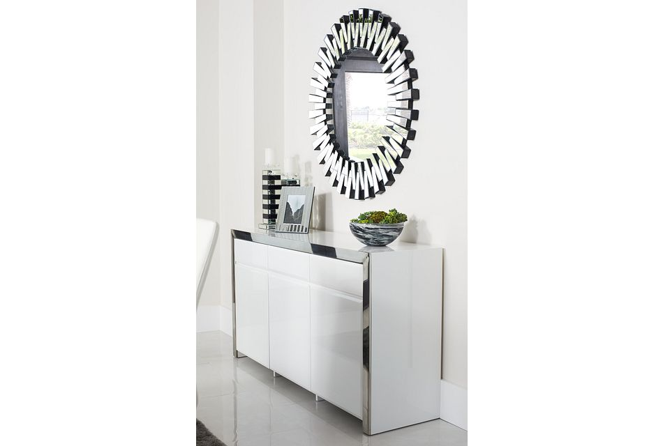 Dane White Sideboard