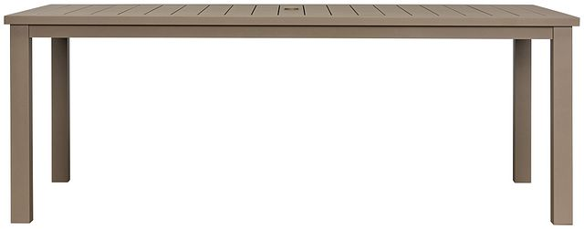 "Raleigh Taupe 81"" Rectangular Table (0)"