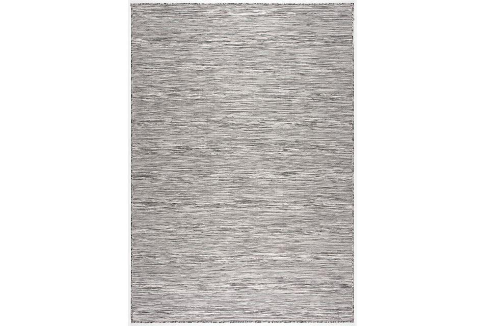 Alloha Gray Indoor/outdoor 5x8 Area Rug