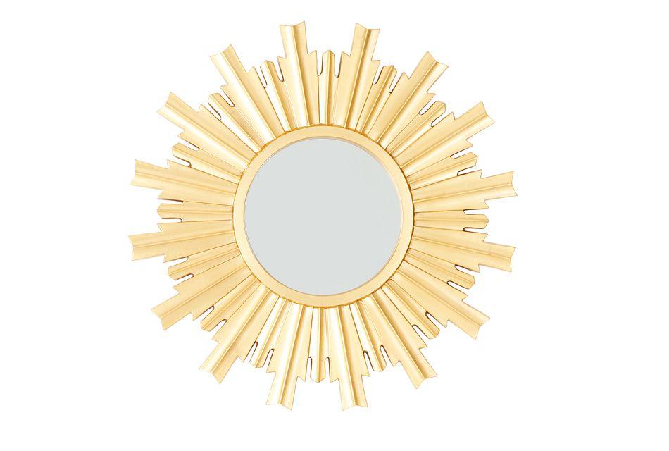 Burst Gold Mirror