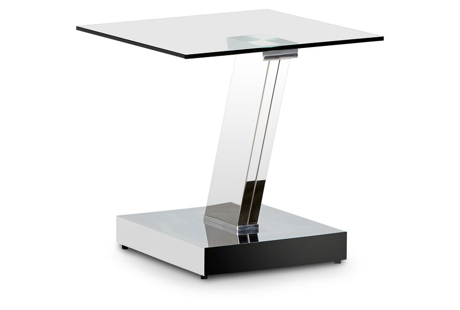Holborn Glass Square End Table