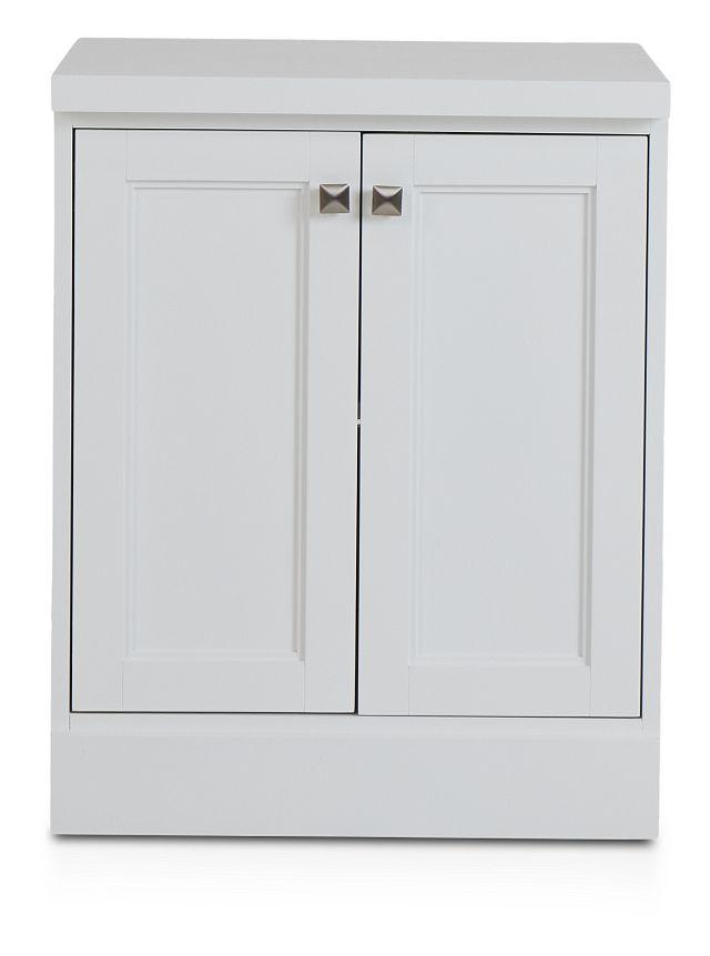 Newport White Door Cabinet (1)