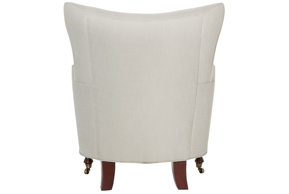 Lindley Taupe Fabric Accent Chair