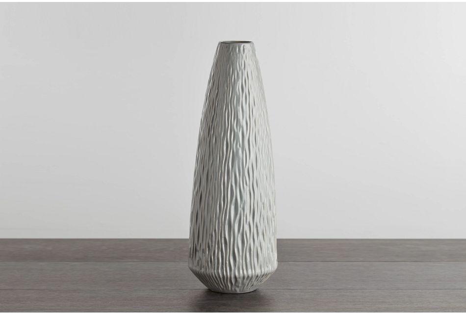Lyra Large Gray Vase