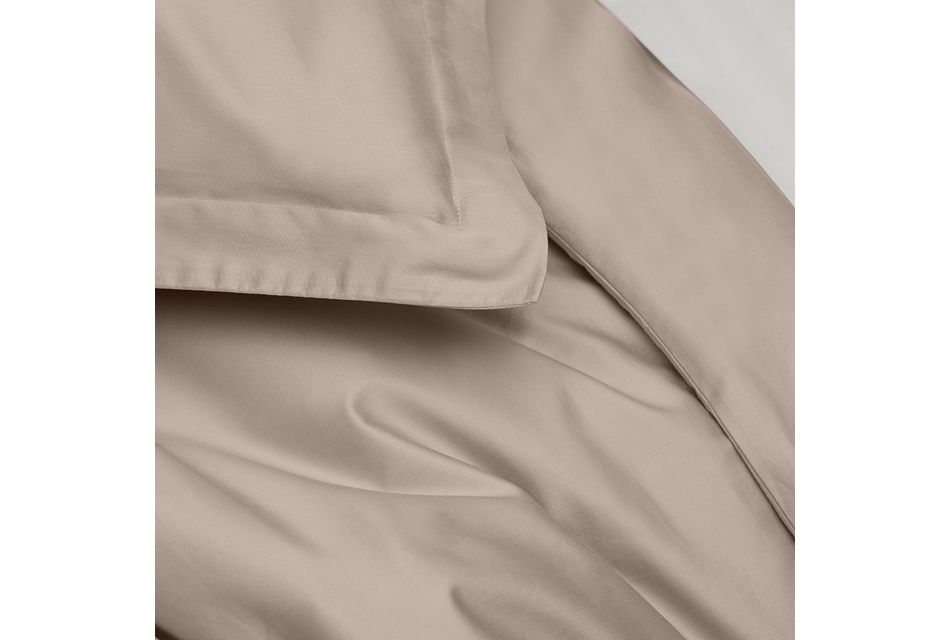 Organic Cotton Pink 300 Thread Duvet Set