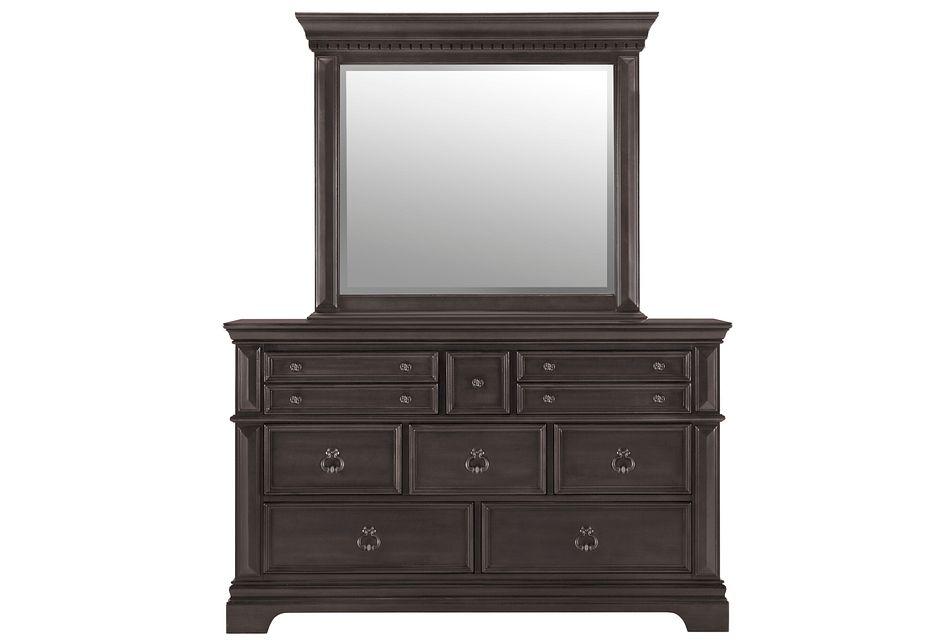 Emerson Gray  Dresser & Mirror