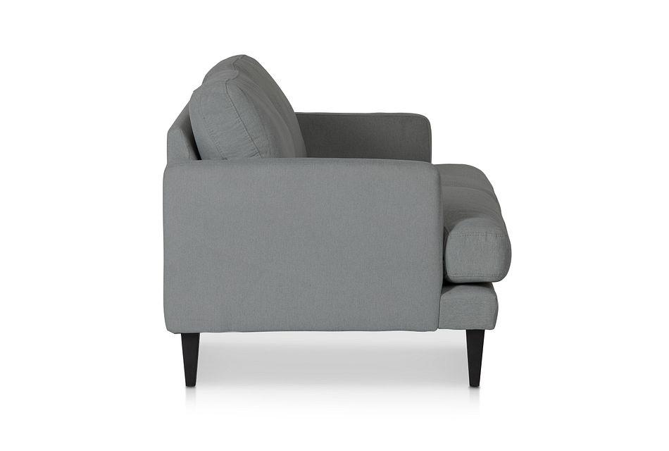 Fremont Gray Fabric Loveseat