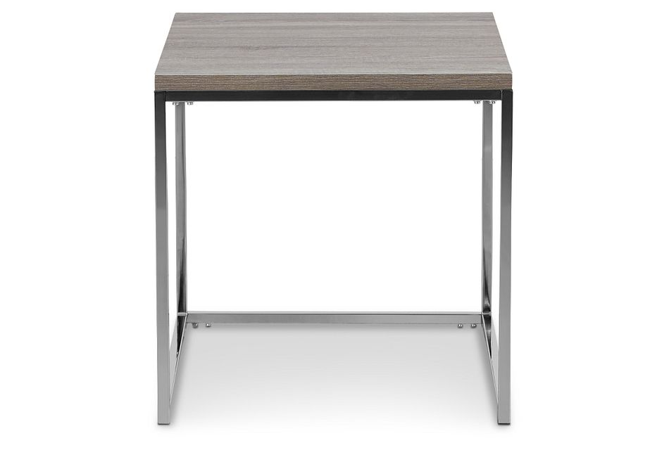 Elliot Gray Tall End Table