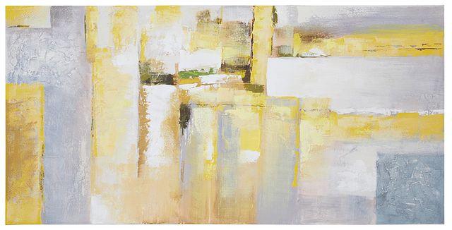Gloaming Yellow Framed Canvas Wall Art (0)