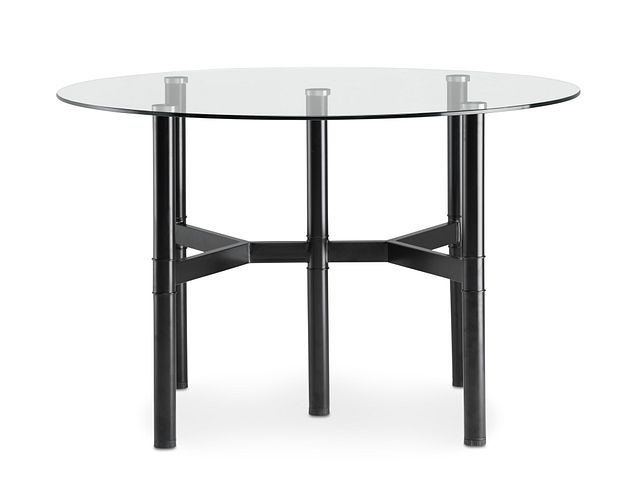 """Lemans 48"""" Glass Round Table (1)"""