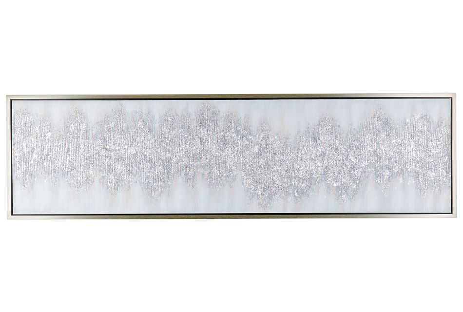 Jadlyn Silver Framed Wall Art