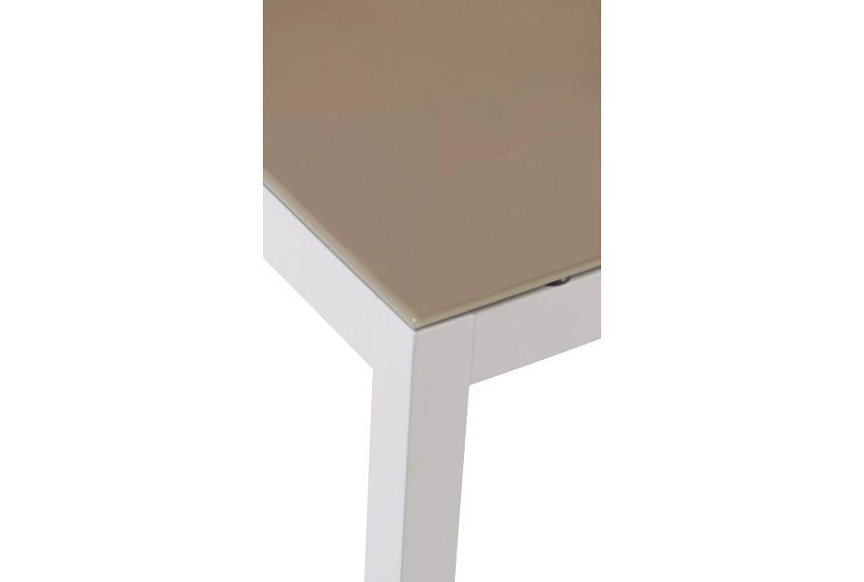 "Aventura Champagne 63"" Rectangular Table,  (3)"