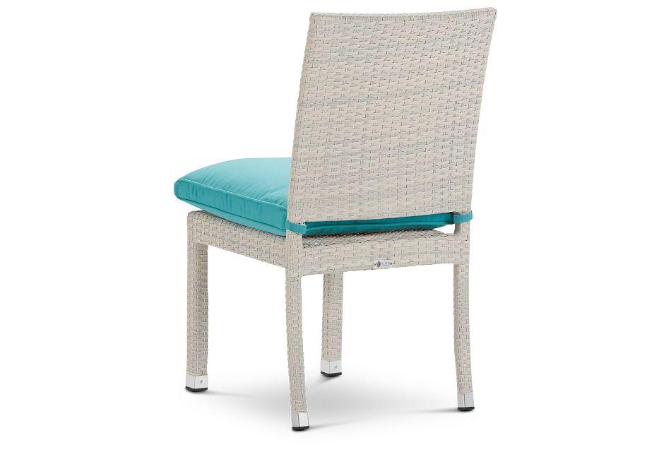 Bahia Dark Teal Side Chair